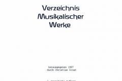 Verzeichnis Musikalischer Werke_2